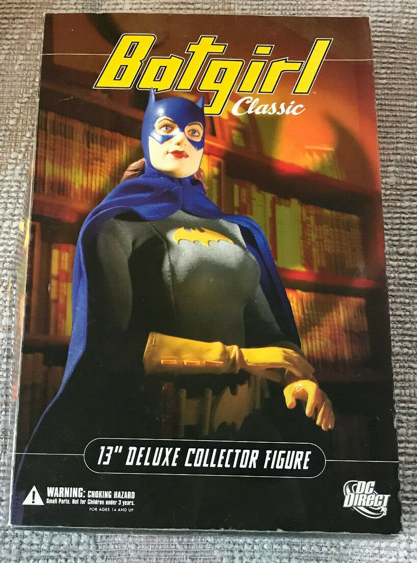 DC DIRECT 13  DELUXE COLLECTOR EDITION BATMAN BATGIRL WITH BOX 1 6 SCALE