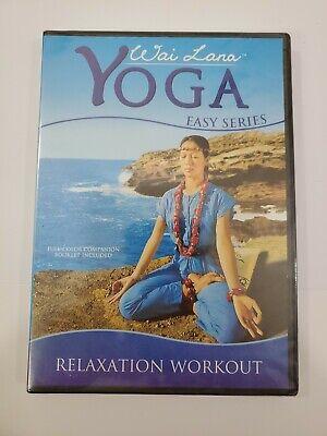 wai lana yoga easy relaxation workout dvd 660217800819  ebay