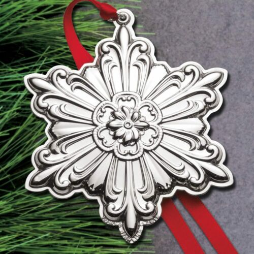 NEW 2018 Towle Old Master Snowflake 29th Edition Annual Sterling Ornament