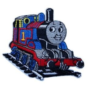 Thomas the tank Inspired Iron On Patch Thomas the Tank engine Sew on Embroidered