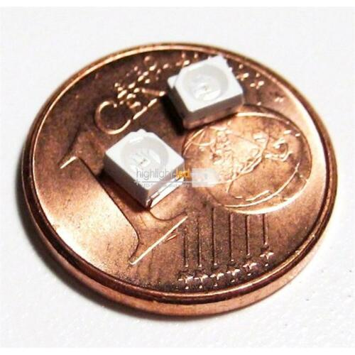 10 SMD LED Sop 2 3528 naranja LEDs Amber diodos luminosos