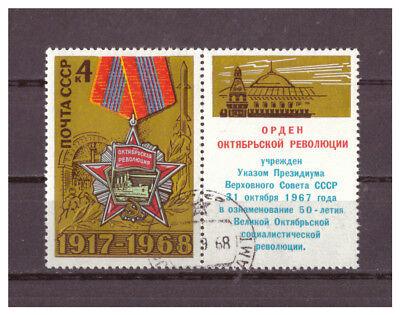 51 2019 Neuer Stil Sowjetunion 1968 Used StäRkung Von Sehnen Und Knochen 3541 Jahrestag Der Oktoberrevolution Minr