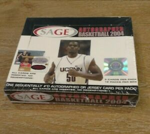 2004-Sage-Autographed-Basketball-Sealed-Hobby-Box-12-hits-per-box