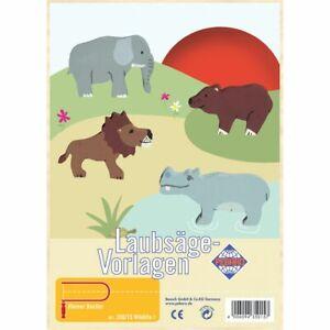 PEBARO-Laubsaegevorlage-Wildlife-I
