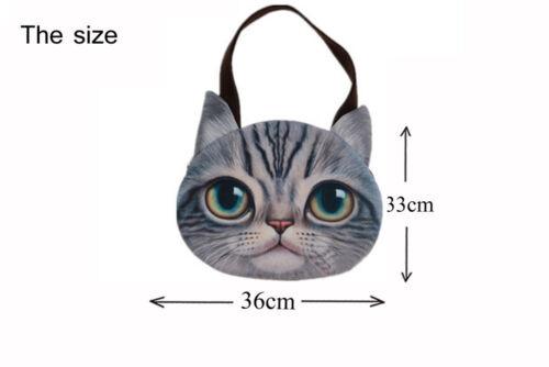 Katze Katzen Handtasche Shopper Bag Tasche Damenhandtasche 3D Neu 33cm x 36cm