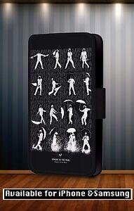 Singin-039-in-the-Rain-Classic-Disney-Dance-Faux-Leather-Flip-Phone-Case-Cover-Y223