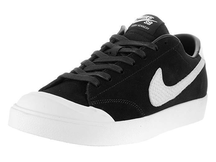Nike Men's Zoom All Court Ck Qs Black/white Skate Shoe (12.5)