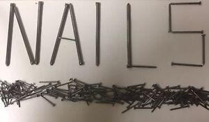 Nails! Ring, Lost Head, Galvanised, Oval, Twist Etc. Big Packs! 450g or 1KG