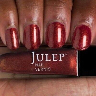 NEW! Julep nail polish BORIS & NICOLE ~ Autumn red-brown frost ~ Metallic/Chrome
