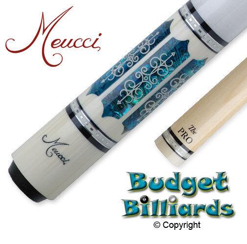 Meucci 21st Century-3 (21-3) Pool Cue w Pro Shaft  Gratis Hard Case --In stock