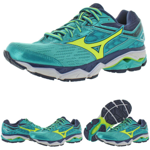 BHFO 9070 B,M Mizuno Womens Wave Ultima 9 Blue Running Shoes 7.5 Medium