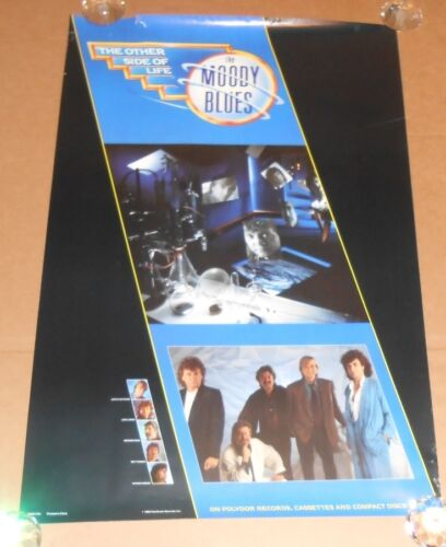 The Moody Blues The Other Side of Life Promo 1986 Promo Poster RARE 24x36