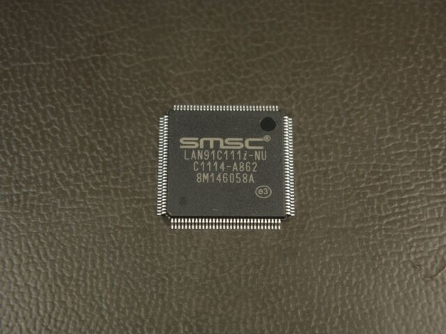 Microchip Lan91c111i-nu Controller ENET Mac Phy 128tqfp