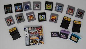 20-Nintendo-Portable-Games-Lot-Gameboy-Gameboy-Color-Gameboy-Advance