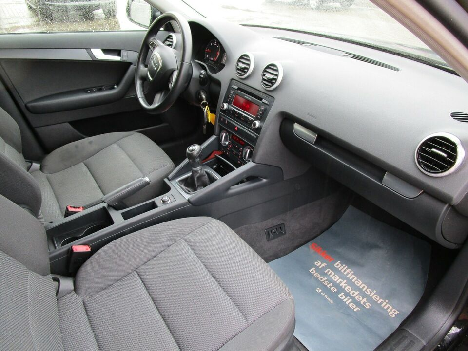 Audi A3 1,6 TDi Attraction SB Diesel modelår 2013 km 150000