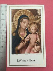 Canivet-image-pieuse-couleur-La-vierge-et-l-039-enfant-Bouasse-jeune-1953