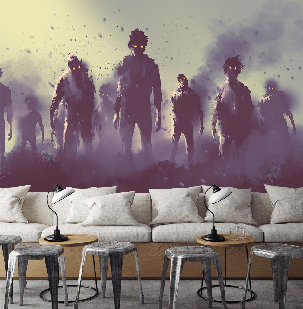 3D Horror Bild 3998 Fototapeten Wandbild Bild Tapete Familie Kinder