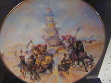 Royal Cornwall 1977 The Creation THE TOWER OF BABEL  Ltd Ed Plate