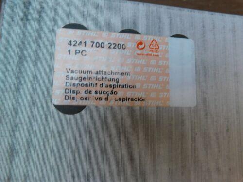 STIHL  VACUUM ATTACHMENT KIT  4241 007 2200 BG56 SH56 BG86 SH86 NEW OEM
