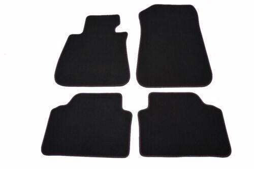 BMW 3er Tappetini e90 e91 originale qualità velluto tappetini tappeti in velcro 4