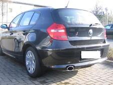 Auspuffblende 1er BMW E81 E82 E87 E88 116i 116d Endrohr Auspuff Edelstahl Chrom