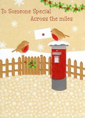 Extra large christmas cards collection on ebay someone special across the miles christmas card second nature xmas cards m4hsunfo