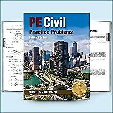 PE Civil Practice Problems by Michael R. Lindeburg (2018, Trade Paperback)