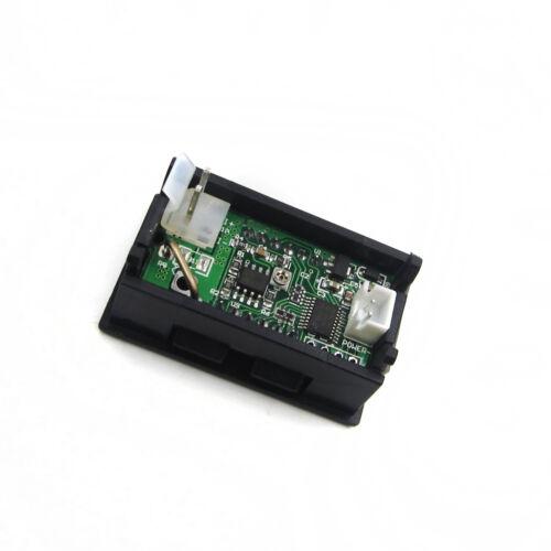NEW Blue LED Panel Meter Mini Digital Ammeter DC 0-5A