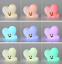 miniature 6 - BTS BT21 Mood Silicon Lamp Light Official 100% Authentic Kpop Light US Seller