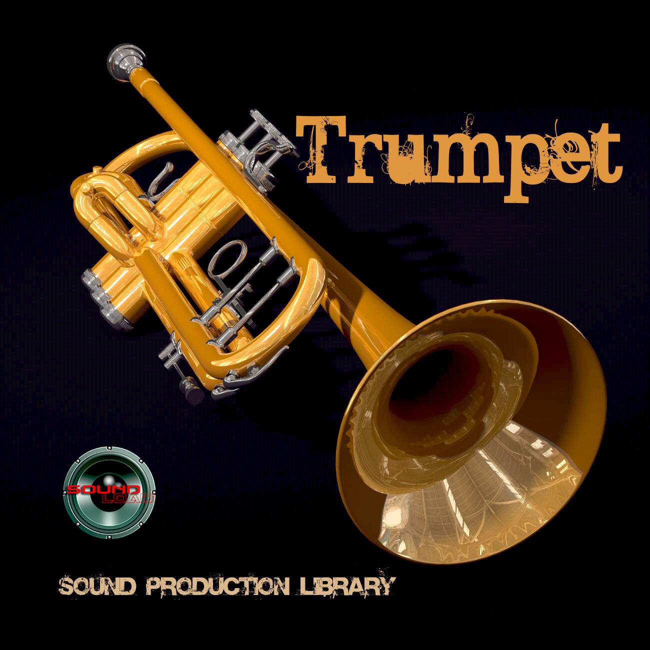 TRUMPET REAL - UNIQUE Perfect WAVE/NKI Multi-Layer Stud