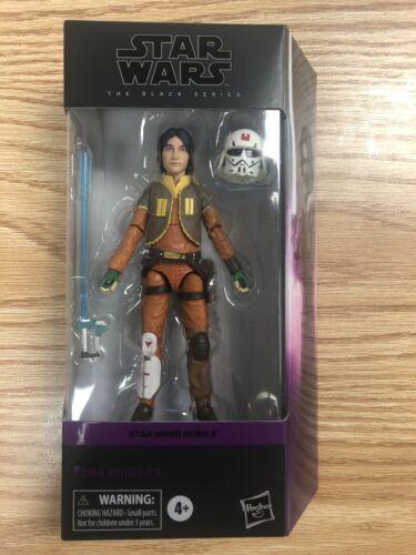 Star Wars The Black Series Ezra Bridger 6-Inch Action Figure IN Hand In Stock