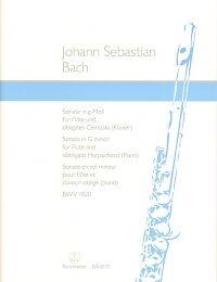 Wind & Woodwinds Contemporary Enthusiastic Bach Sonata Gmin Bwv1020 Durr Flute & Piano