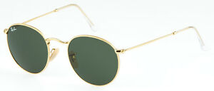 RAY-BAN-RB-3447-001-ROUND-METAL-GR-47-ORIGINAL-NEU-OPTIKERFACHGESCHAFT