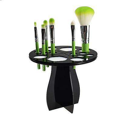 Acrylic Makeup Cosmetic Foundation Brushes Dryer Organizer Holder Hanger Stand