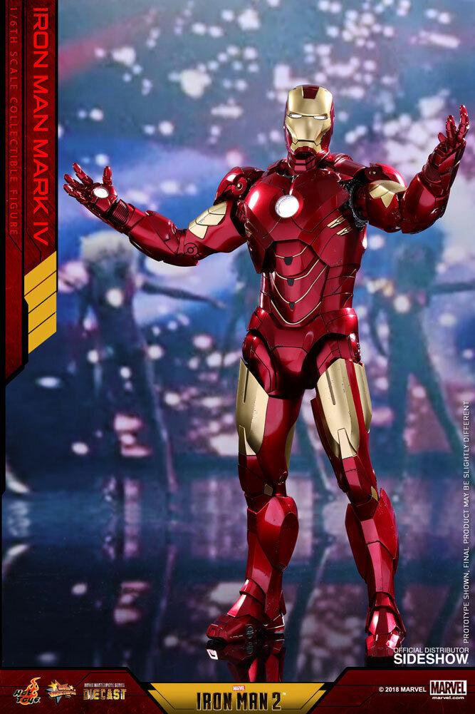 Movie Masterpiece Series Iron Man Mark IV Die Cast Hot Toys 903341