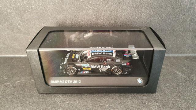 BMW M3 DTM 2012, Bruno Spengler, DTM champion, Minichamps 1/43 no spark