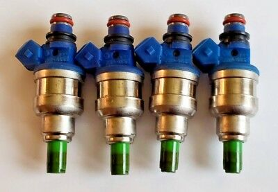 4 2.4  INP-065 Galant Eclipse *Cleaned /& Flow Tested* Fuel Injector Set