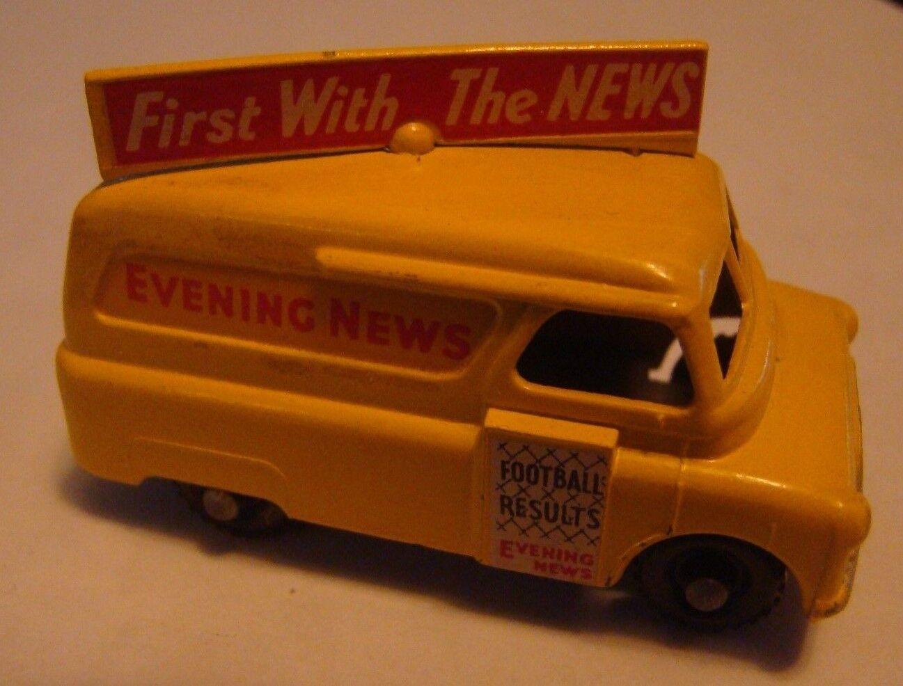 Matchbox Regular Wheel 42A Bedford Evening News Van BP Knobby W 1957