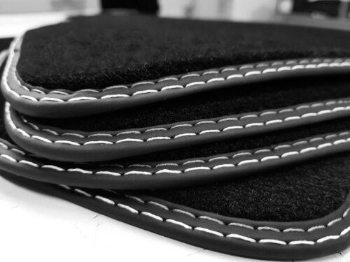 Tappetini PER CHEVROLET CAPTIVA 2010-2015 Originale Premium velluto LINEA ARGENTO