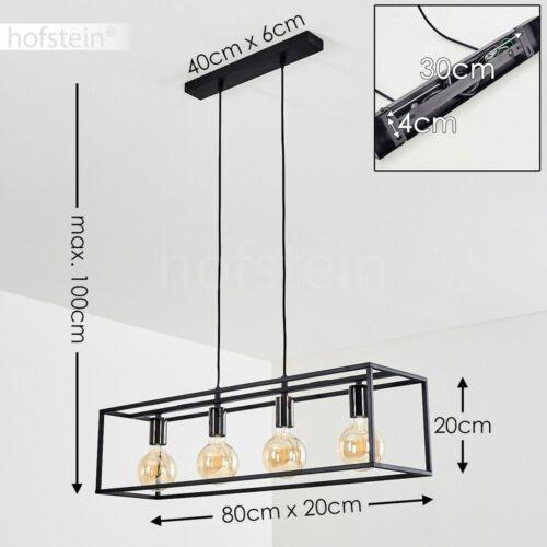 Nera salotto sonno ESS illuminazione stanza 4-bruciatori lampadario a sospensione Pendolo LAMPADE