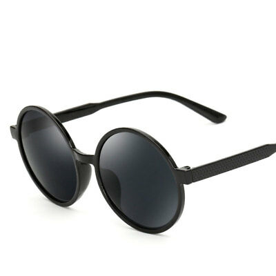 Women's Vintage Mirror Round Frame Sunglasses Outdoor Eye Glasses Eyewear