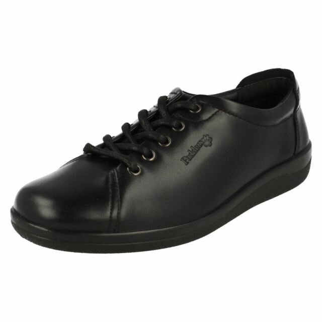 33e53516b8b53 Clearance Padders Galaxy Ladies Womens Leather Wide E Fit Lace up ...
