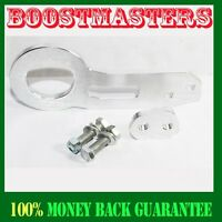 For 88-00 Honda Civic Integra Acura Tow Hook Front Silver