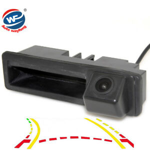 Consumer Electronics Original Dynamic Trajectory Trunk Handle Rearview Camera For Audi A4 A6 A7 Q7 Q5 Rs5 Rs6