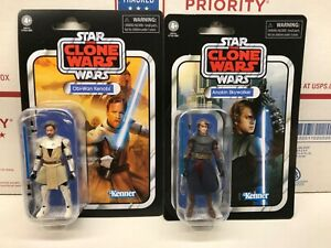 Star-Wars-The-Vintage-Collection-Anakin-Skywalker-and-Obi-Wan-Kenobi-Lot-of-2