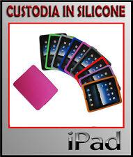 CUSTODIA CASE PER APPLE iPad3 ipad4 o ipad2- COVER IN SILICONE TRASP + PELLICOLA