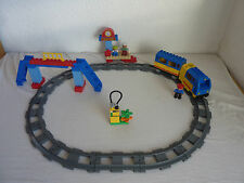 LEGO Duplo Ville Eisenbahn - Starter Set 5608 - E-Lok, Anhänger, Bahnhof - TOP !