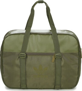 adidas Originals Airliner AC Sports Bag - Green 4057289804597  27a63563d8c85
