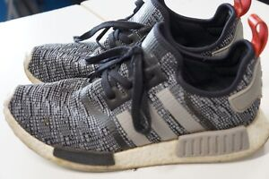ADIDAS-NMD-R1-GLITCH-CAMO-Core-Black-Grey-BB2884-Size-10-5