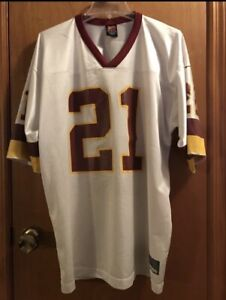 Hot WASHINGTON REDSKINS JERSEY MENS L DEION SANDERS NIKE BURGUNDYWHITE